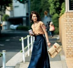 女らしいボリュームスカートで週末も華麗に乗り切る!