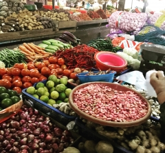インドネシア料理教室 (パート1・市場でお買い物編)
