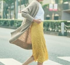 11/4 Sat. 「スニーカー」はスカート合わせでヘルシーな女っぽさを出して