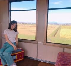 電車もイイね♪