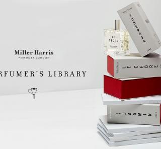 ミラー ハリスの哲学に触れることができる「パフューマーズ ライブラリー コレクション」