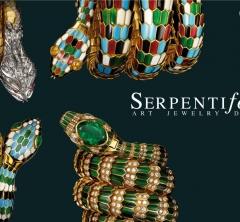 蛇のモチーフに賛辞を贈る展覧会「ブルガリ セルペンティフォーム アート ジュエリー デザイン」