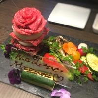 KINTANの肉ケーキ♡