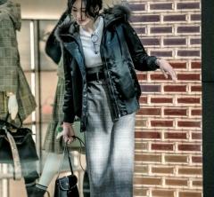 2/6 Tue. 暖かくてさりげなく女っぽい【ロングタイトスカート】は冬に大活躍