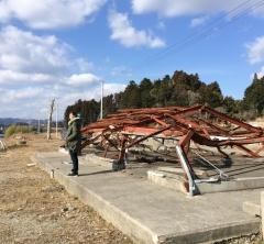 イナトモさんと一緒に見た「福島県・富岡町の3.11から8年目の風景」