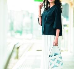 5/11 Fri.ジャケット着用のお仕事日は【ボリューム袖】デザインで女性らしさも忘れずに