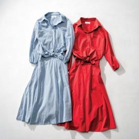 ミラ オーウェンの【ウエストドッキングシャツワンピース】を 計6名様にプレゼント!