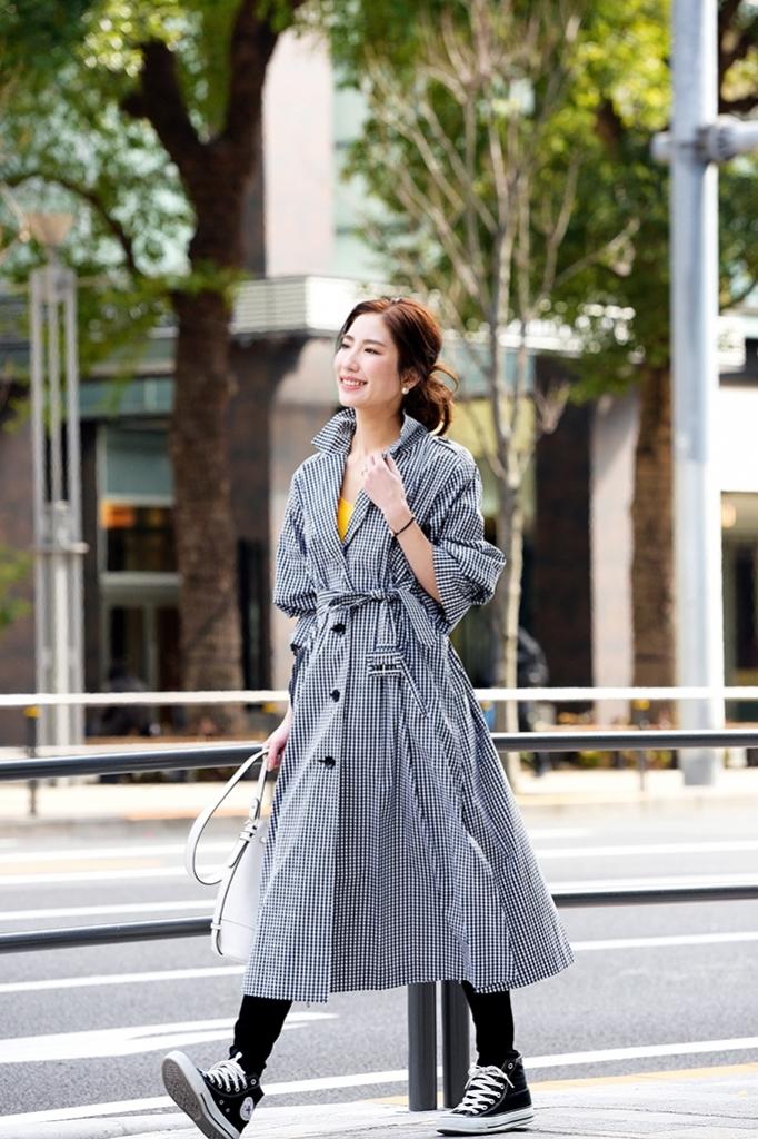 パンツ編 羽織りとしても、ワンピース風にも着られる【ミラ オーウェンの春コート】は使い勝手抜群