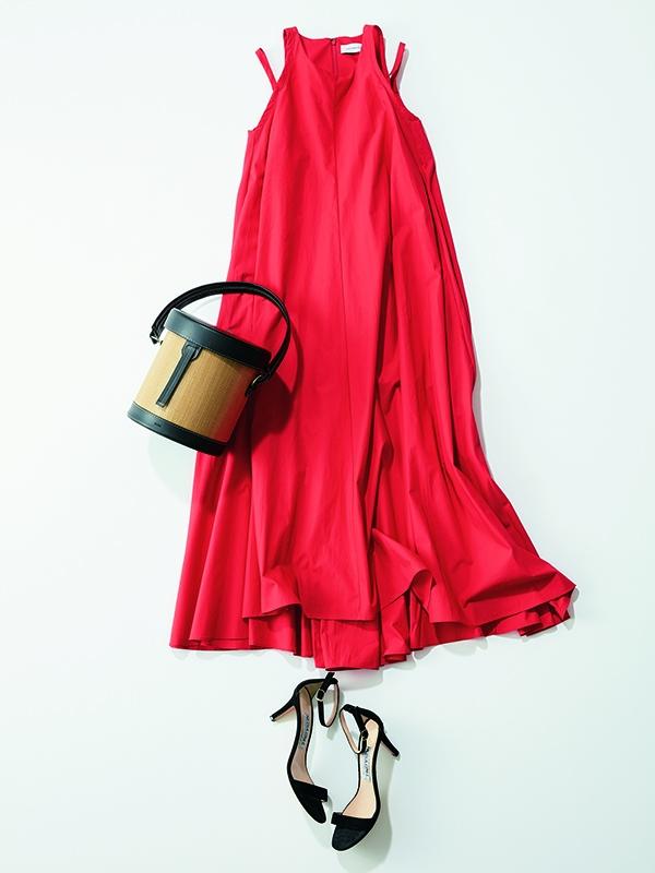 【Aライン】ワンピースコーデ12選 夜の女子会へ。たっぷり布の量感で気持ちも上がる!