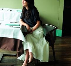 6/22 Fri. 食事会へは【スカートコーデ】×ヒール靴で、ちゃんと女らしくして