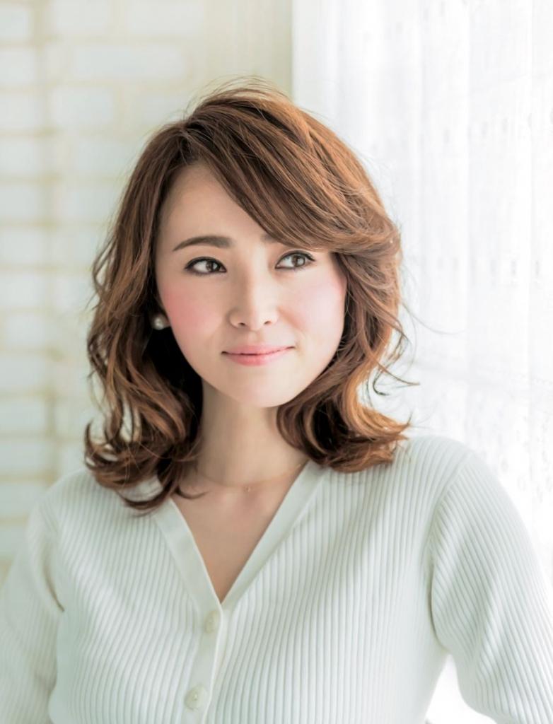 髪型 ミディアム 代 40