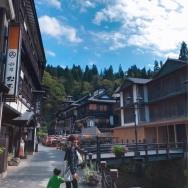 銀山温泉とコーヒードライブ