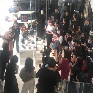 LONGCHAMP×STORY ロンシャン ラ メゾン表参道 1周年記念 トークイベント