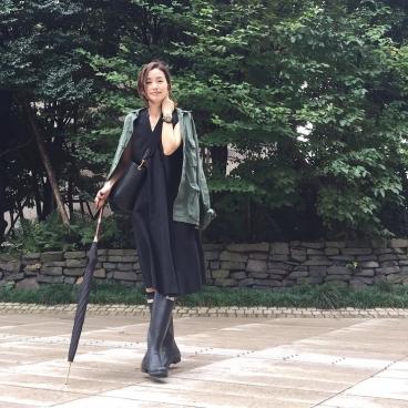 9月30日の服(ROTHCO、UNIQLO、CELINE)台風の日