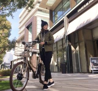 Dailytechnews×BRIDGESTONE コラボ自転車 『イルミオ』でお出かけ
