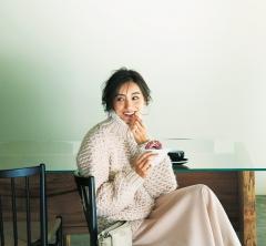 祝日のご近所カフェはピンクの【ワントーンコーデ】でご機嫌な自分時間を[1/14 Mon.]