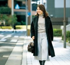 【街のオシャレ40代SNAP!February⑥】ミモレ丈は、やっぱり40代に使いやすいスカート丈