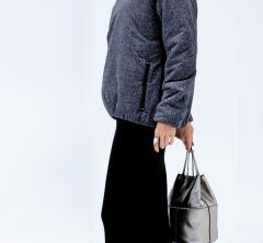 定番の【ロングスカート】コーデはスポーティに仕上げるのが今っぽい [1/24 Thu.]
