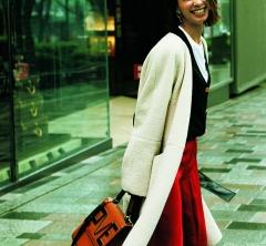 〝着回し〟なんて気にしない!稲沢朋子さん「100%好き!」な私服コーデ公開