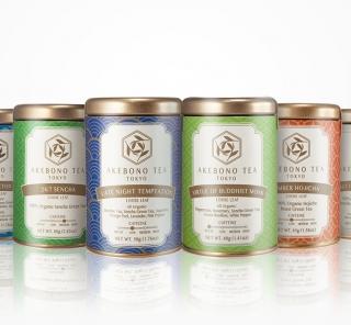 オーガニックの日本茶にハーブをブレンドした 「AKEBONO TEA」が誕生