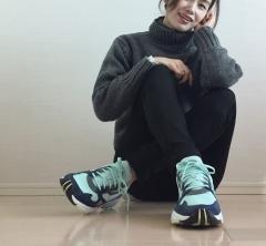 【ダッドスニーカーはじめました】人気読者モデル武藤京子さん