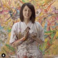 天才現代アーティスト小松美羽さん♡Diorパフューム『SAKURA』アンバサダーに?