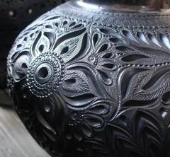 メキシコの黒い陶器・Barro Negro