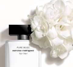 「ナルシソ ロドリゲス フォーハー」シリーズから、 新しいピュアなムスクの香りが発売になります!