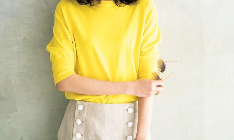 人間関係が上手くいくのを助けるのは…イエロー&グリーンの服!