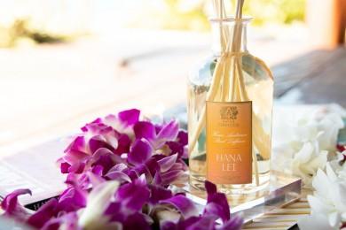 ハワイアンレイの癒しの香りを表現したラグジュアリーなルームフレグランス