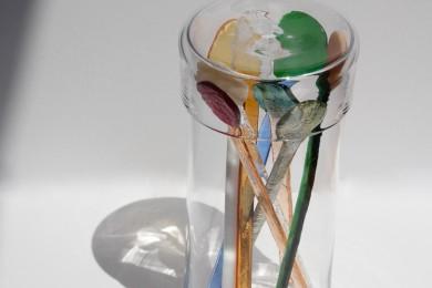 CIBONE CASEでガラスの企画展を開催中