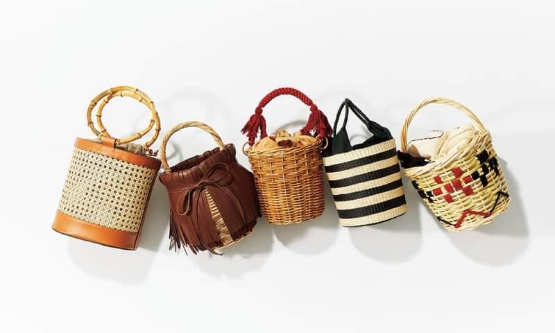 夏の大人バッグの大本命♪ オススメ【かごバッグ】22選