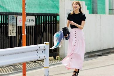 【優しげカラーのスカート】なら、近所で浮かずにオシャレを楽しめます![6/21 Fri.]