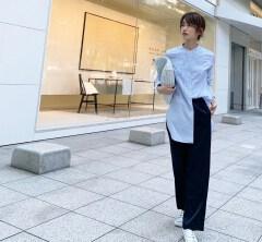 武藤京子ブログ「5月23日のお洋服と サテンパンツの発見!?」