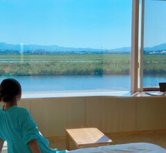 田んぼに浮かぶホテル。①