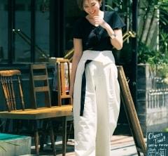 【街のオシャレ40代SNAP!July23th】シンプルなモノトーンなのに女っぽい秘密は?