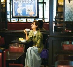 子供の夏休み前、貴重な一人時間を味わう【ロングスカート】コーデ[7/16 Tue.]
