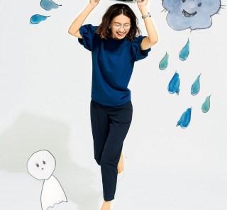 """""""梅雨オシャレ""""は不快解消重視!速乾ドライ・吸湿・撥水・UVケアファッション"""