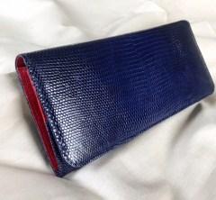 本革リザード財布のオーダー