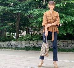 武藤京子ブログ「ちょっとキチンとしてみた6月14日のお洋服」