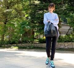 武藤京子ブログ「野球観戦に行った日 6月18日のお洋服です」