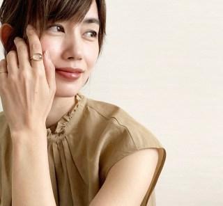 武藤京子ブログ「誕生日前に フライングでお迎えした @MARIHA のリング」