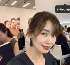 武藤京子ブログ「SHIRO 10周年記念パーティーに行ってきました」