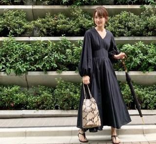 武藤京子ブログ「1枚でおめかしが完成する @MARIHAのワンピース」