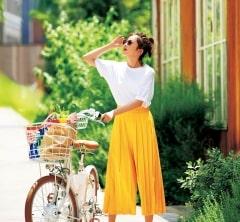 猛暑の中、近所に買い出しに。【ヴィヴィッドイエロー】で最後まで夏を満喫[8/23 Fri.]