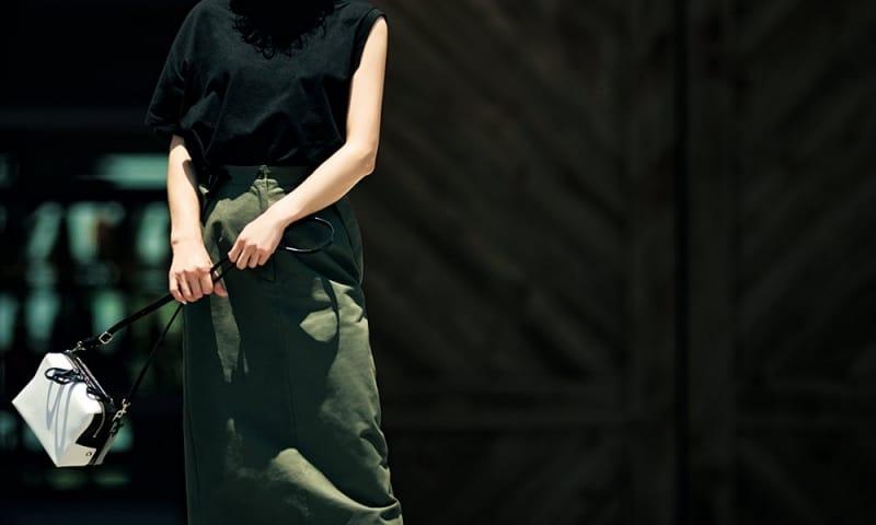 夏服にマンネリを感じたら【アシンメトリーTシャツ】でオシャレをブラッシュアップ![8/22 Thu.]