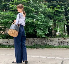 武藤京子ブログ「このコーディネートには 赤いバレエシューズだよね...」