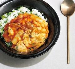 チーズタッカルビ丼【簡単!夏休みのお昼ご飯レシピ】