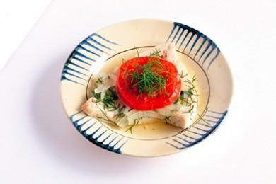 魚の香草蒸しライスペーパー巻き【プロに聞いたお家ごはんレシピ】