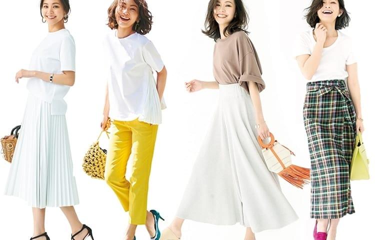 【2019レディース夏コーデ】大人が取り入れるべき最新ファッション31選